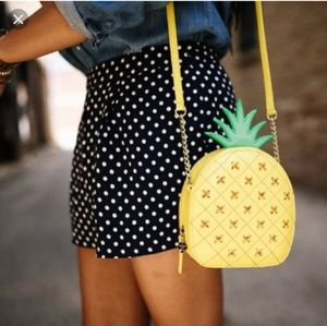 Pineapple Crossbody Purse
